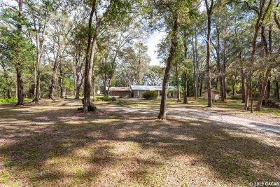 Williston FL Single Family Home For Sale: $184,900