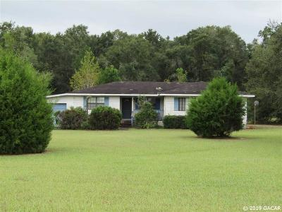 Chiefland Single Family Home Pending: 2250 NW Hwy 27 Alt