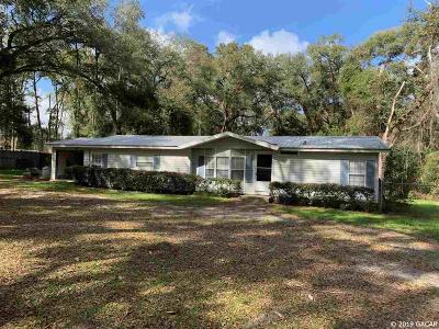Newberry Single Family Home For Sale: 18104 NW 32nd Avenue