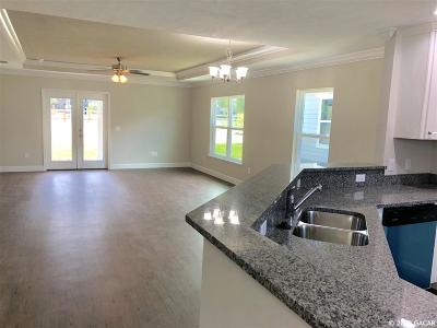 Newberry Single Family Home Pending: 25069 SW 11th Court