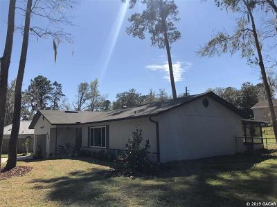 Gainesville Single Family Home For Sale: 2424 NW 67th Terrace