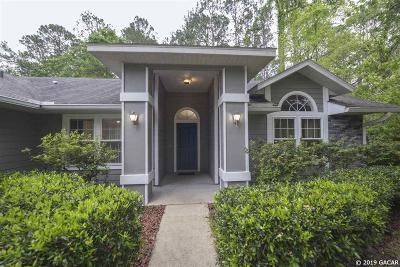Gainesville Single Family Home For Sale: 3419 NW 67th Avenue