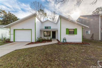 Gainesville Single Family Home For Sale: 7405 NW 21ST Way