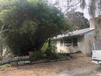 Gainesville Single Family Home Pending: 1722 NW 5th Ave
