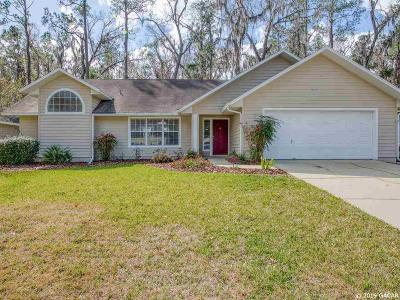 Alachua Single Family Home For Sale: 10880 NW PALMETTO Boulevard