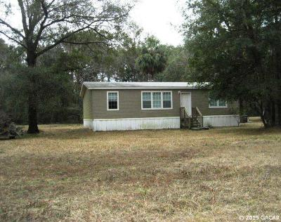 Gainesville FL Single Family Home For Sale: $145,000