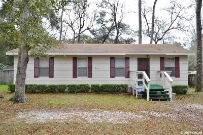 Gainesville Single Family Home For Sale: 2111 SE 44th Terrace
