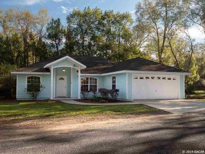 Bronson Single Family Home Pending: 141 Live Oak Circle