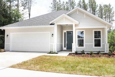 Alachua Single Family Home For Sale: 15971 NW 121 Lane