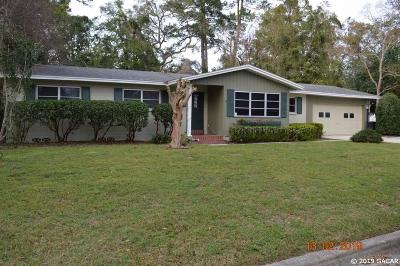Gainesville Single Family Home For Sale: 3236 NW 28 Place