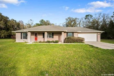 Micanopy Single Family Home For Sale: 21275 NW 150 Ave Road