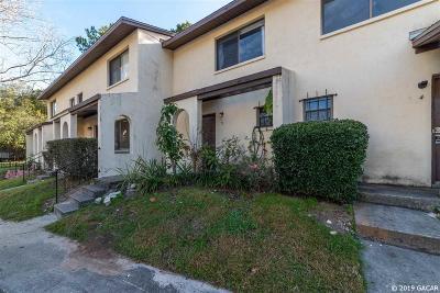 Gainesville FL Condo/Townhouse For Sale: $99,000