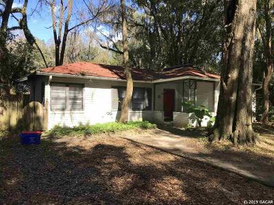 Gainesville Single Family Home For Sale: 2712 NW 1st Avenue