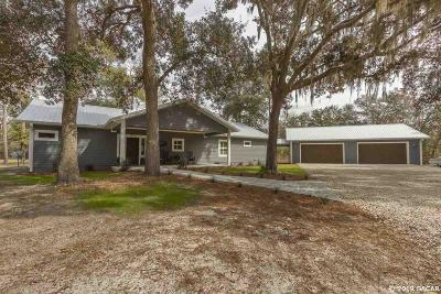 High Springs Single Family Home For Sale: 28514 NW 182ND Avenue