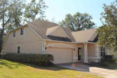 Alachua Single Family Home For Sale: 14369 NW 159th Place