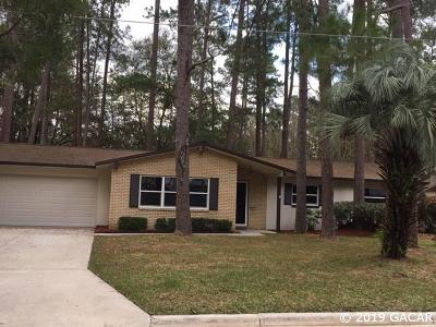 Gainesville Single Family Home For Sale: 4611 NW 28th Terrace
