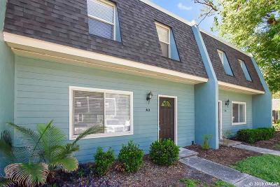 Gainesville Condo/Townhouse For Sale: 501 SW 75TH Street #A-2