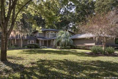 Gainesville Single Family Home For Sale: 6401 NW 56th Lane