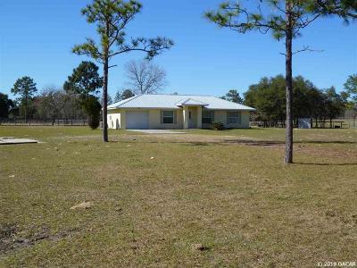 Dunnellon Single Family Home Pending: 10650 SE 138th Terrace