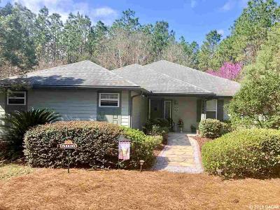 Alachua Single Family Home For Sale: 12896 NW 150th Terrace