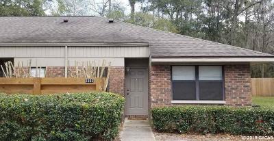 Gainesville FL Condo/Townhouse For Sale: $112,000