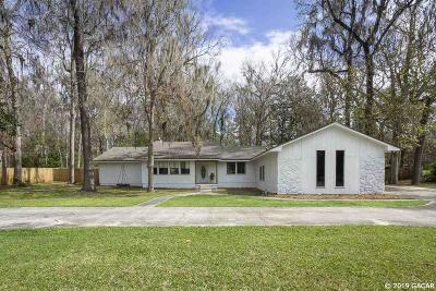 Gainesville FL Single Family Home For Sale: $339,000
