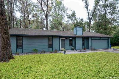 Gainesville FL Single Family Home For Sale: $172,500
