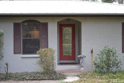Archer Single Family Home For Sale: 16317 SW 59th Avenue