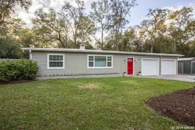 Gainesville FL Single Family Home For Sale: $187,000