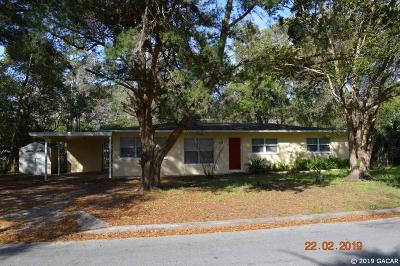 Gainesville FL Single Family Home For Sale: $130,000