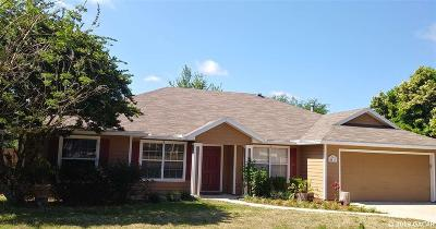 Gainesville FL Single Family Home For Sale: $248,900