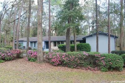 Gainesville Single Family Home For Sale: 1703 NW 68TH Terrace