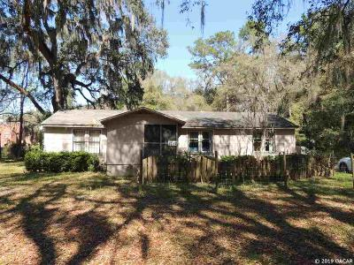 Gainesville Single Family Home For Sale: 1280 SW Williston Road