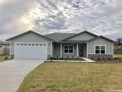 Newberry Single Family Home For Sale: 22908 NW 4th Place