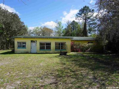 Bronson Single Family Home For Sale: 6251 NE 101st Terrace