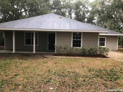 Newberry Single Family Home Pending: 14218 SW 12th Place
