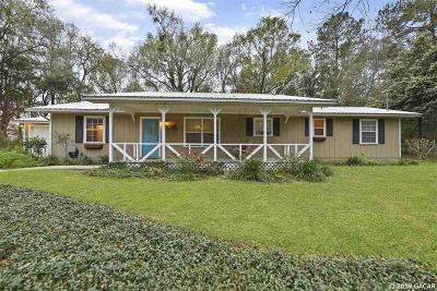 Alachua Single Family Home For Sale: 15703 NW 118 Place