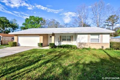 Gainesville Single Family Home For Sale: 1202 SW 75th Drive