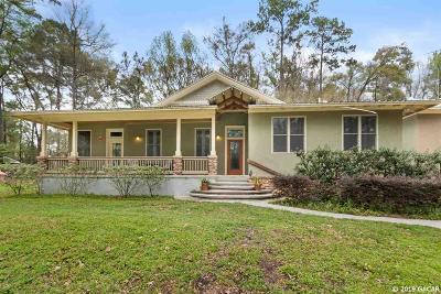 Alachua Single Family Home For Sale: 11733 Sage Boulevard