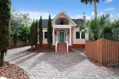 Gainesville FL Single Family Home For Sale: $1,049,000