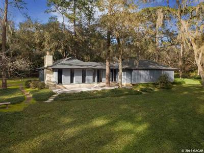 Gainesville FL Single Family Home For Sale: $499,000
