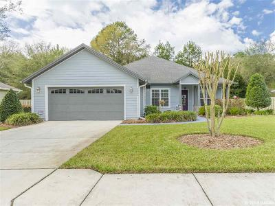 Newberry Single Family Home For Sale: 2888 NW 144th Terrace