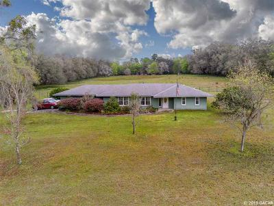 Alachua Single Family Home For Sale: 16514 NW 78th Avenue
