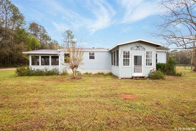 Newberry Single Family Home For Sale: 18409 NW 32nd Avenue