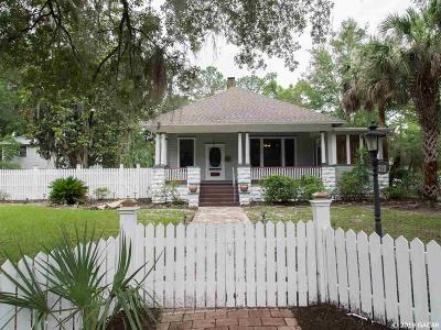 Gainesville Single Family Home For Sale: 320 NE 7th Street