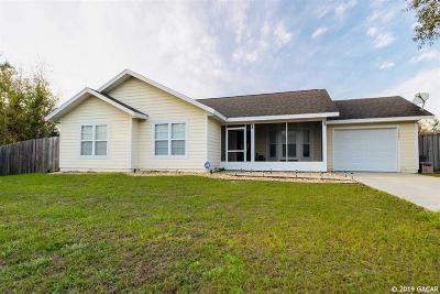 Williston FL Single Family Home Pending: $144,900