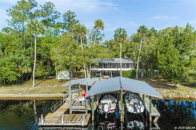 Steinhatchee Single Family Home For Sale: 430 SE Granger Road
