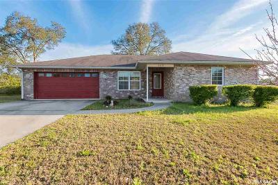Newberry Single Family Home For Sale: 25177 SW 20th place