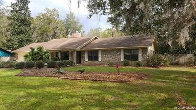 Gainesville Single Family Home For Sale: 4301 NW 66 Terrace