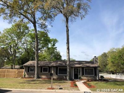 Gainesville Single Family Home For Sale: 4420 NW 21st Street
